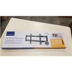 NEW OVERSTOCK 13-32 INCH FIXED POSITION TV WALL MOUNT 40LB CAPACITY