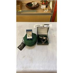 LOT OF WATCHES, PERFUME AND EARRINGS