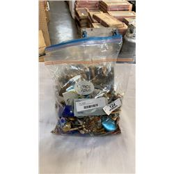 3 large bags of costume jewelry