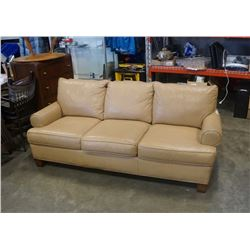 BARRYMORE LEATHER SOFA