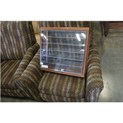 Wood and acrylic display case