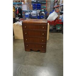 VINTAGE HAMMOND WATERFALL CHEST OF DRAWERS