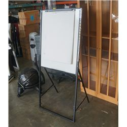 6ft stand up adjustable whiteboard/drawing canvas