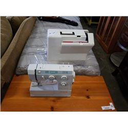 BERNETTE 740E SEWING MACHINE - POWER CORD PEDAL AND MANUAL IN CASE