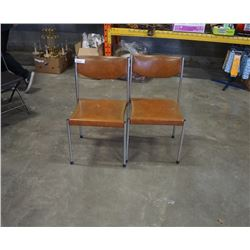 TWO MID CENTURY CHAIRS