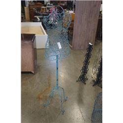 5 foot metal dress form