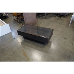 MODERN COFFEE TABLE WITH 1 DRAWER
