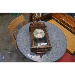 Hamilton 31 day clock with key and pendulum