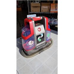 HOOVER SPOTLESS SELF CLEANING PORTABLE CARPET CLEANER