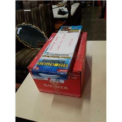 BOX OF PRINTER PAPER AND OVERSIZE KEYBOARD