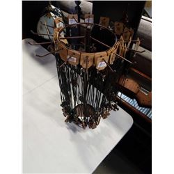 48 leather necklaces with rotating stand