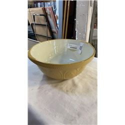 VINTAGE GREENS MADE IN ENGLAND MIXING BOWL