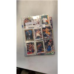 60 NBA rookie cards various years