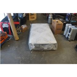 BEAUTYREST SILVER DARNOLD COMFORT TOP TWIN MATTRESS - FACTORY DEFECTIVE, SLIGHT BULGE ON SIDE, DOES