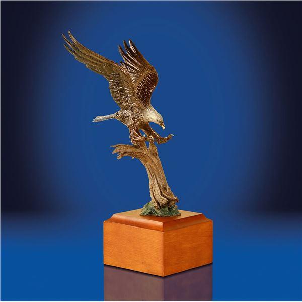 """Freedom"" Bronze sculpture by Lorenzo Ghiglieri"