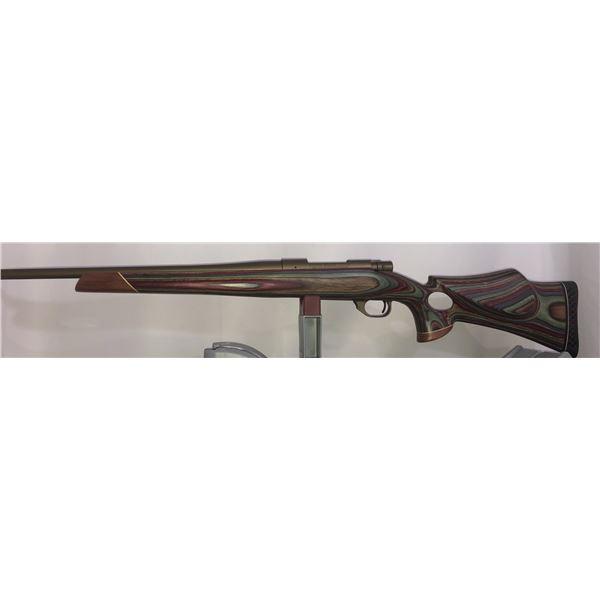 Custom built Rifle, hand finished Laminated Thumb Hole Stock   By Master Gunsmith Frank Anderson