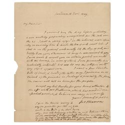 James Monroe Autograph Letter Signed