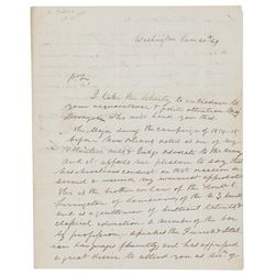 Andrew Jackson Letter Signed