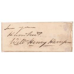 William Henry Harrison Signature