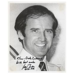 Joe Biden Signed Photograph