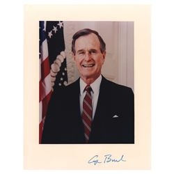 George Bush Signed Photograph