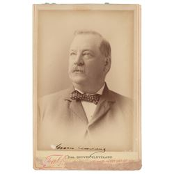 Grover Cleveland Signed Photograph