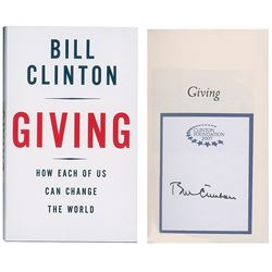 Bill Clinton Signed Book