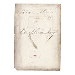 Millard Fillmore Signed Pass