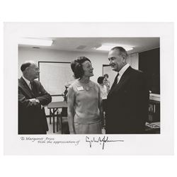 Lyndon B. Johnson Signed Photograph