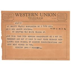 John F. Kennedy (3) Telegrams