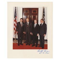 Richard Nixon Signed Photograph