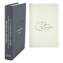 Barack Obama Signed Book