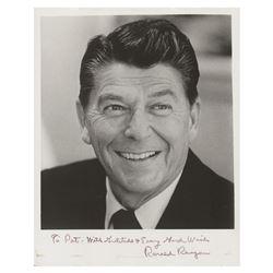Ronald Reagan Signed Photograph