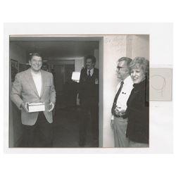 Ronald Reagan (3) Strands of Hair