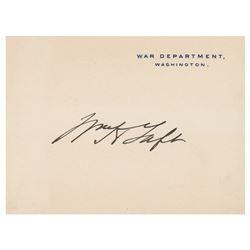 William H. Taft Signature