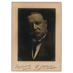 William H. Taft Signed Photograph