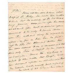 Martin Van Buren Autograph Letter Signed