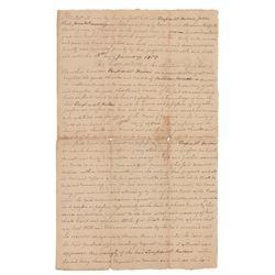 Northwest Territory: Francis Vigo Document Signed