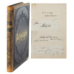 1863 Autograph Album with Over 200 U.S. Political and Military Signatures