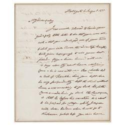 John Jacob Astor Autograph Letter Signed
