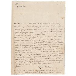 Xavier Bichat Autograph Letter Signed