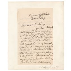 William Wilberforce Autograph Letter Signed