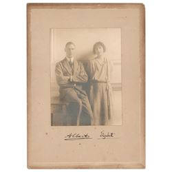 King George VI and Elizabeth, Queen Mother Signed Photograph