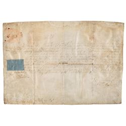 Queen Anne Document Signed