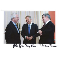 British Prime Ministers Signed Photograph