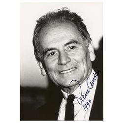 Pierre Cardin Signed Photograph