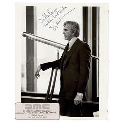 John DeLorean Signed Photograph