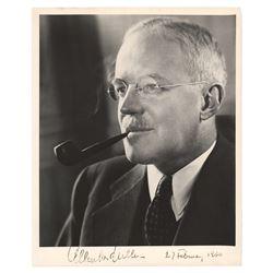 Allen Dulles Signed Photograph