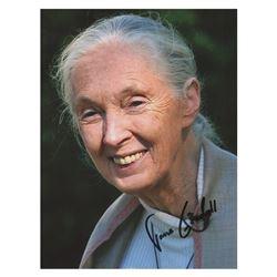 Jane Goodall Signed Photograph