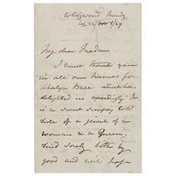 John F. W. Herschel Autograph Letter Signed